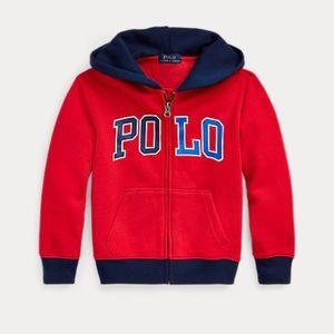 Polo Ralph Lauren Toddler Boys Fleece Jacket NWT